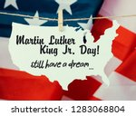 martin luther king day... | Shutterstock . vector #1283068804