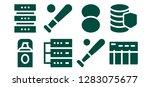 base icon set. 8 filled base... | Shutterstock .eps vector #1283075677