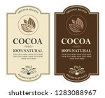 Collection Of Labels With Coco...