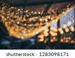 christmas shiny glitter light...   Shutterstock . vector #1283098171