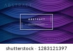abstract  dynamic and textured...   Shutterstock .eps vector #1283121397
