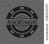 assortment realistic black... | Shutterstock .eps vector #1283142247