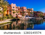 port of sotogrande. port  sea ... | Shutterstock . vector #1283145574