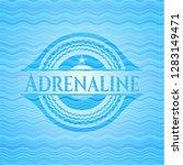adrenaline water wave badge...   Shutterstock .eps vector #1283149471