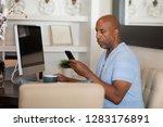 mature african american man...   Shutterstock . vector #1283176891