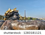 the beautiful alexander iii... | Shutterstock . vector #1283181121
