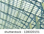 abstract metal  architecture   Shutterstock . vector #128320151