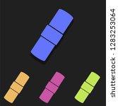 patch icon in multi color....