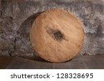 Antique Wooden Wheel Of...