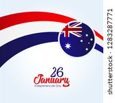 australia independence day. 26... | Shutterstock .eps vector #1283287771