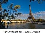 eiffel tower in paris  france   ...