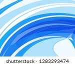 graphic illustration swirling... | Shutterstock . vector #1283293474