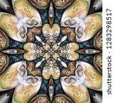 3d render of plastic background ...   Shutterstock . vector #1283298517