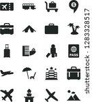 solid black vector icon set  ... | Shutterstock .eps vector #1283328517