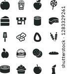 solid black vector icon set  ... | Shutterstock .eps vector #1283329261