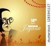 vector illustration of indian... | Shutterstock .eps vector #1283341117