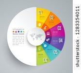 infographics design vector and... | Shutterstock .eps vector #1283354011