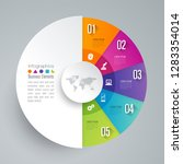 infographics design vector and... | Shutterstock .eps vector #1283354014