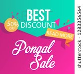 best discount pongal sale | Shutterstock .eps vector #1283356564