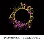 floral ornament designs for... | Shutterstock .eps vector #1283389417