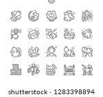 baby well crafted pixel perfect ... | Shutterstock .eps vector #1283398894