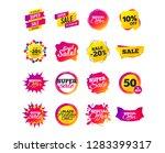 sale banner templates design.... | Shutterstock .eps vector #1283399317