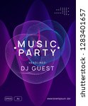 club flyer. cool show cover... | Shutterstock .eps vector #1283401657