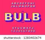 retro light bulb bright... | Shutterstock .eps vector #1283402674