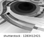 abstract texture. oil  acrylic... | Shutterstock . vector #1283412421