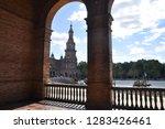 "the plaza de espa a  ""spain... | Shutterstock . vector #1283426461"