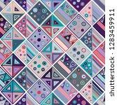 seamless vector pattern.... | Shutterstock .eps vector #1283459911