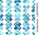 seamless vector pattern.... | Shutterstock .eps vector #1283459914