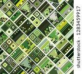 seamless vector pattern.... | Shutterstock .eps vector #1283459917
