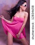 young beautiful fashion woman... | Shutterstock . vector #12834658
