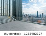 panoramic skyline and modern... | Shutterstock . vector #1283482327