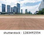 panoramic skyline and modern... | Shutterstock . vector #1283492554