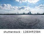 panoramic skyline and modern... | Shutterstock . vector #1283492584