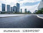 panoramic skyline and modern... | Shutterstock . vector #1283492587