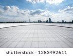 panoramic skyline and modern... | Shutterstock . vector #1283492611