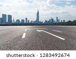 panoramic skyline and modern... | Shutterstock . vector #1283492674