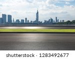 panoramic skyline and modern... | Shutterstock . vector #1283492677