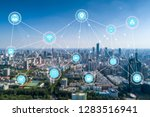 5g network wireless systems and ... | Shutterstock . vector #1283516941