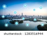5g network wireless systems and ... | Shutterstock . vector #1283516944