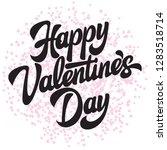 calligraphic stylish vector... | Shutterstock .eps vector #1283518714