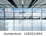 panoramic skyline and buildings ...   Shutterstock . vector #1283521894