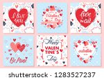 collection of creative... | Shutterstock .eps vector #1283527237