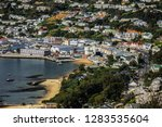 aerial view of simon's town and ... | Shutterstock . vector #1283535604
