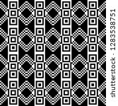 monochrome geometric shapes and ...   Shutterstock .eps vector #1283538751