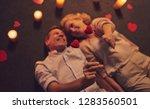 love has no age  romantic... | Shutterstock . vector #1283560501
