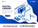 modern flat design isometric... | Shutterstock .eps vector #1283563681